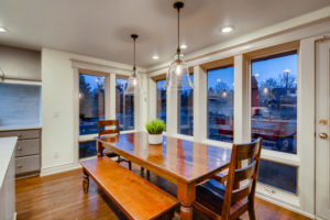 Dining room real estate image