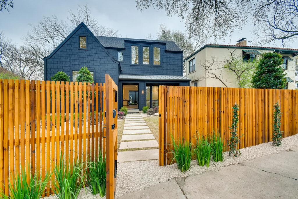 Gray home in Austin