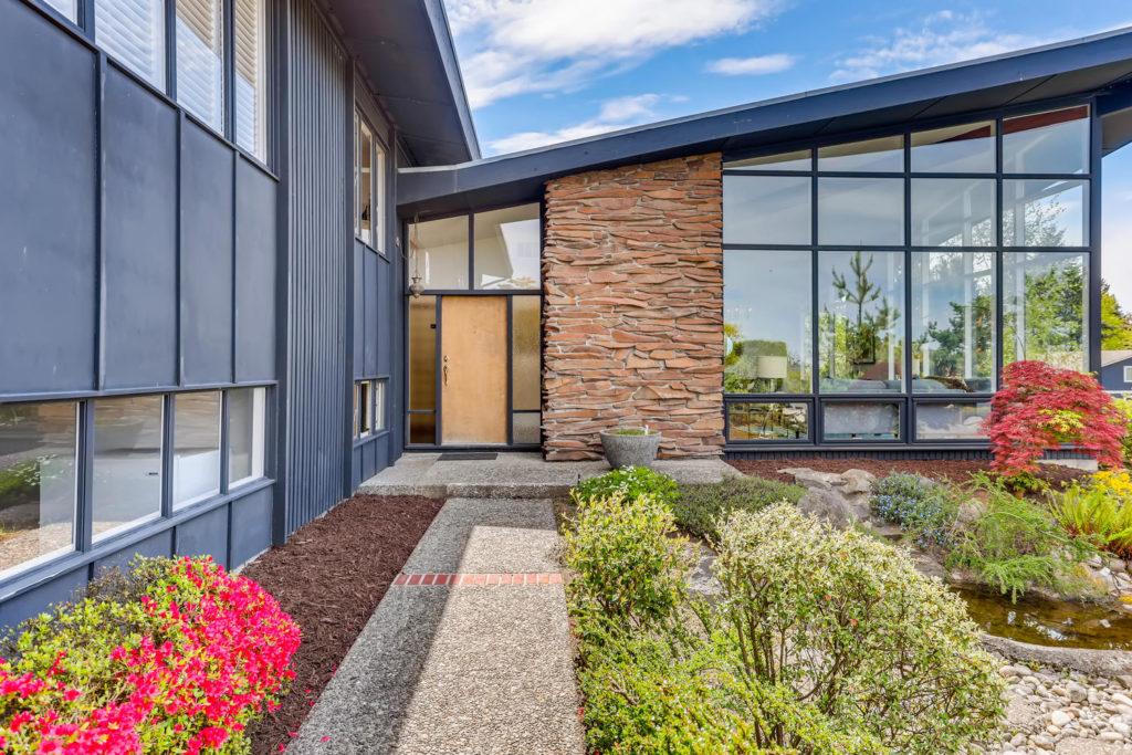 Seattle mid-century modern home