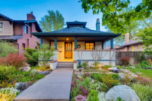 Bungalow house in Denver