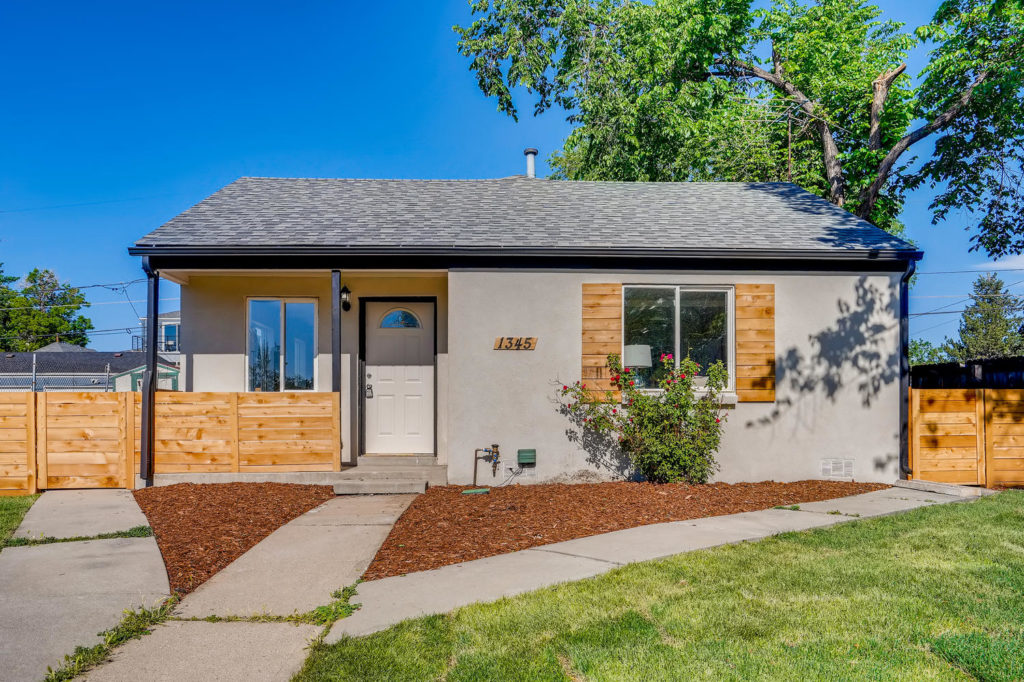 Cute Denver bungalow with wood shutters