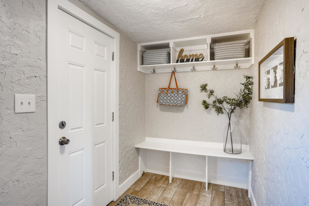 Mudroom in Modern house