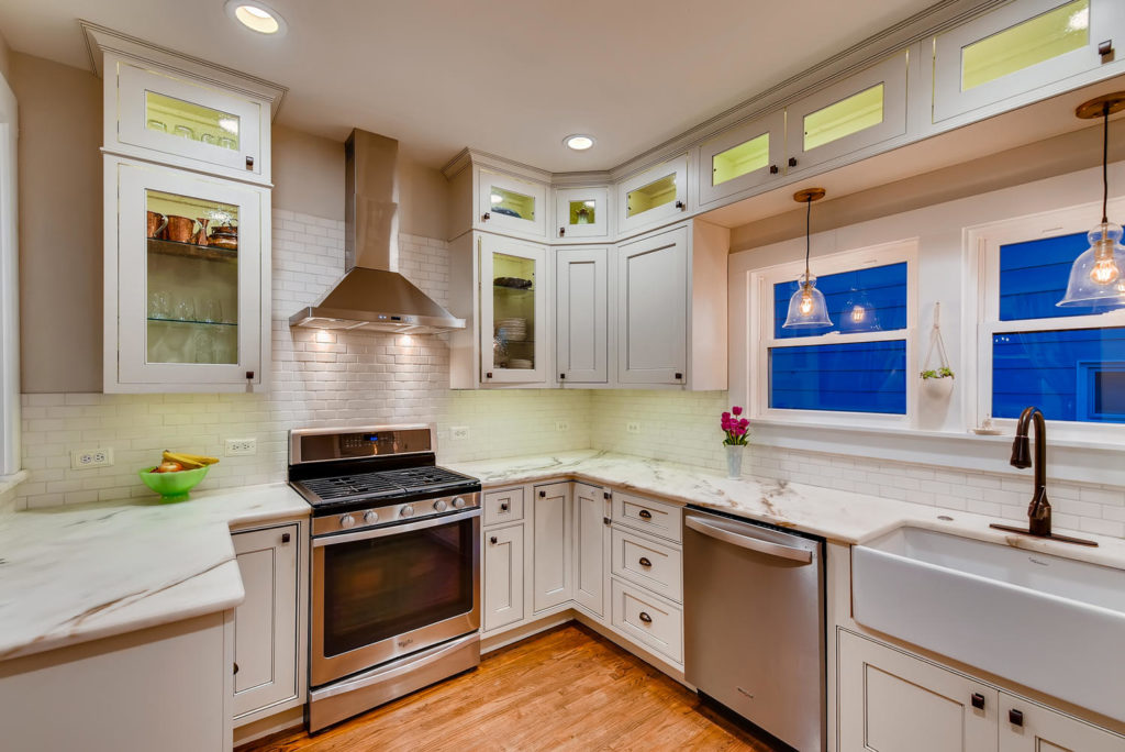 Kitchen in Denver bungalow