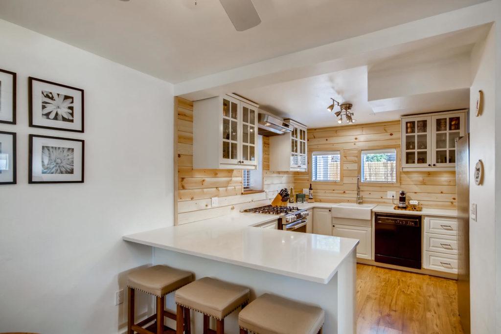Kitchen in Denver home