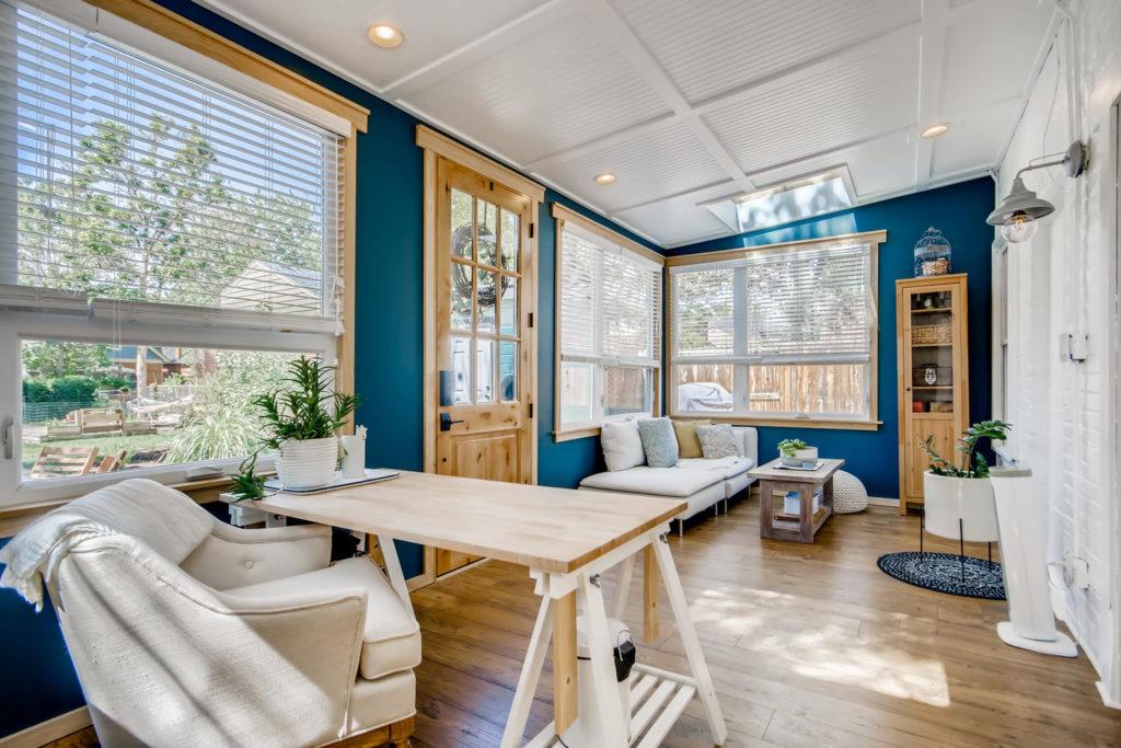 Sunroom in Denver home