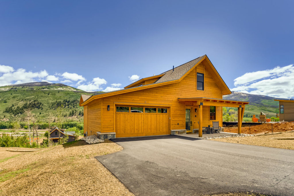 Mountain house in Colorado