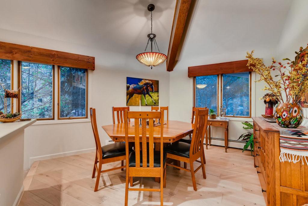 Dining room Denver real estate image