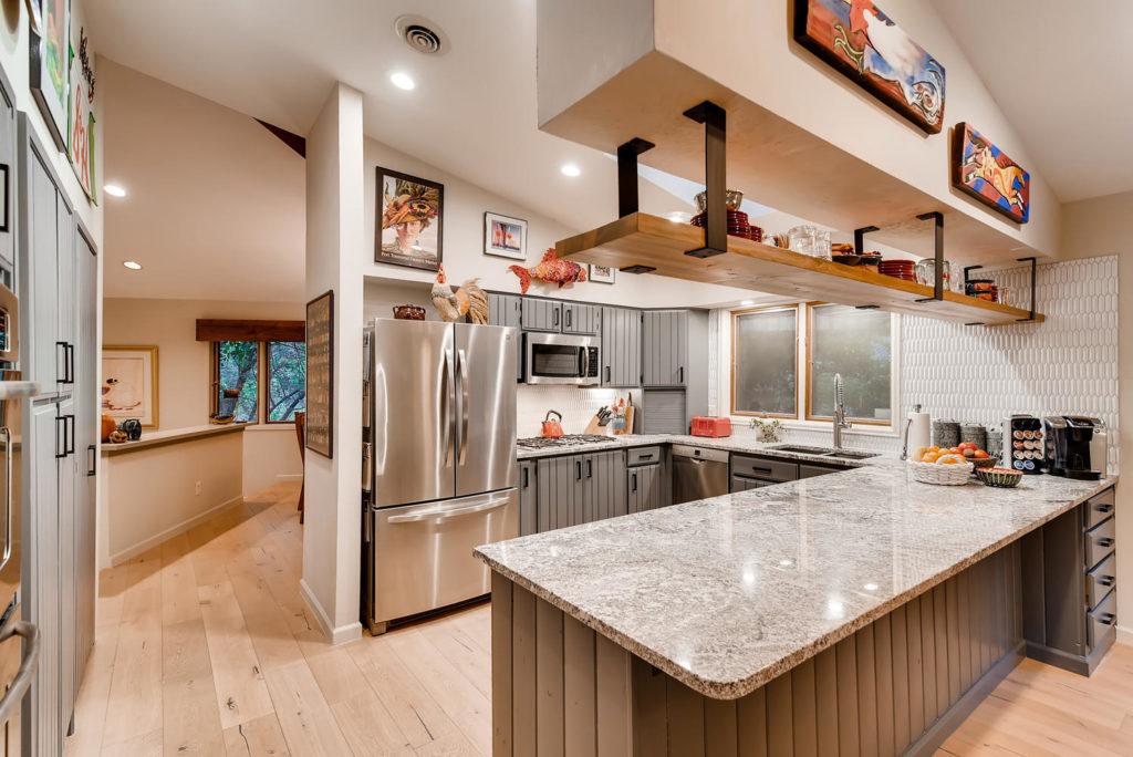 Kitchen real estate image in Denver