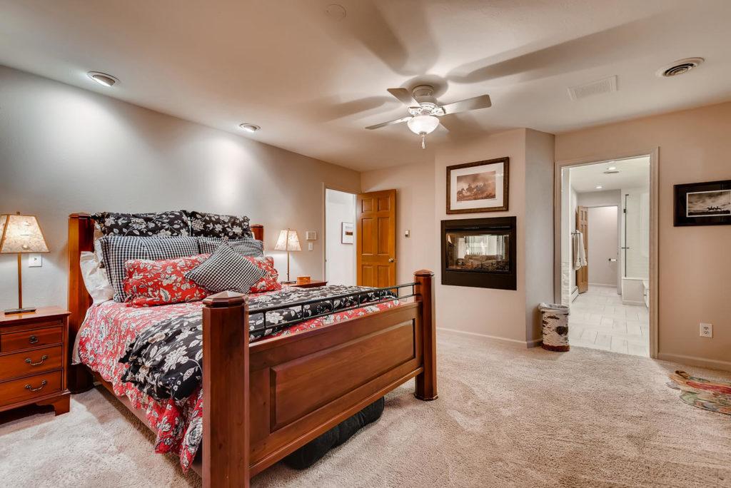 bedroom real estate image Denver