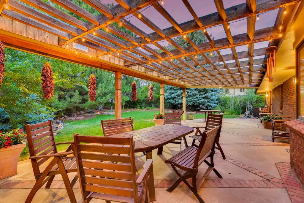 exterior porch real estate image denver