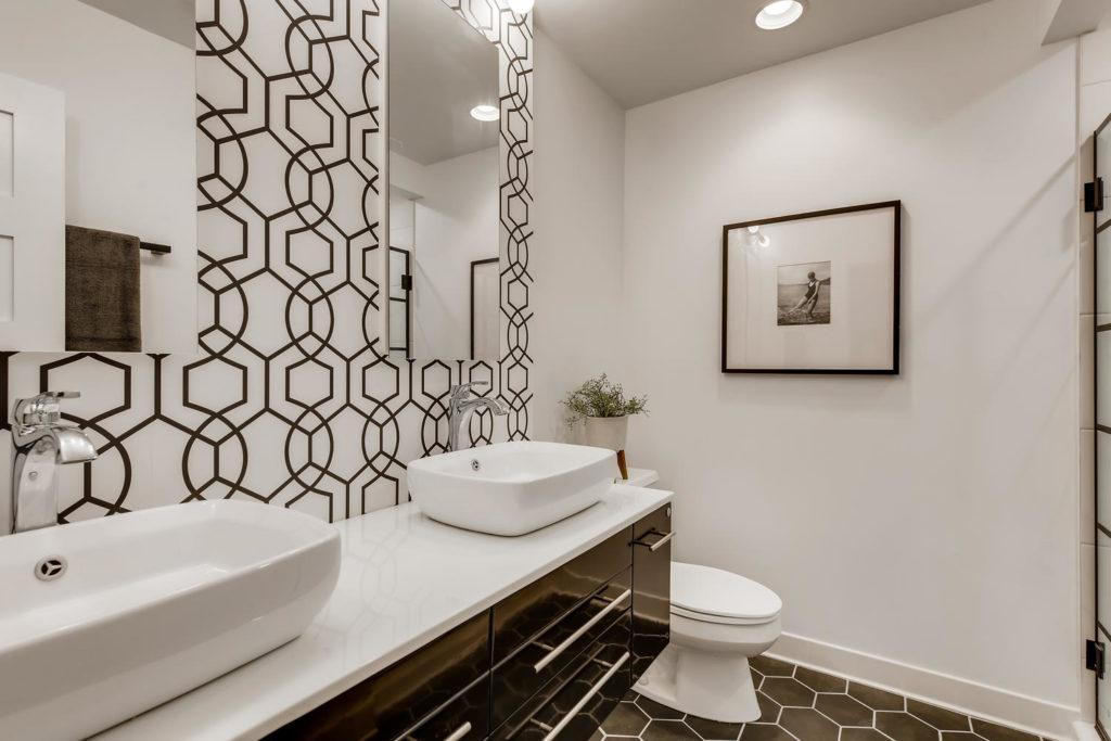 modern bathroom - real estate image