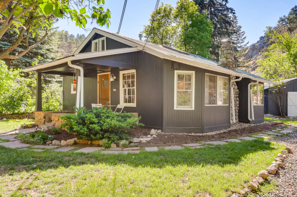 real estate photography - house in boulder