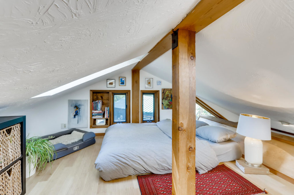 bedroom loft - real estate photography