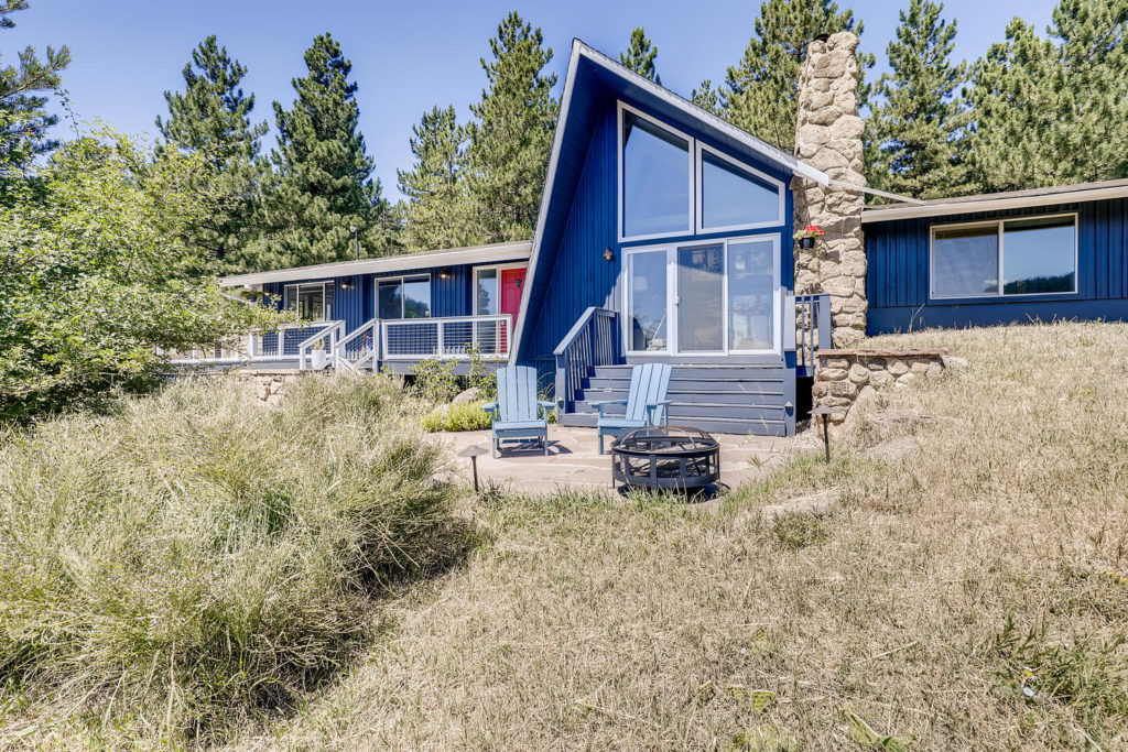 real estate photography - boulder house mid-century modern