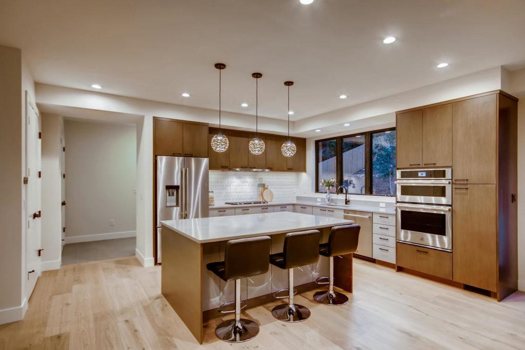 real estate photography - kitchen in boulder