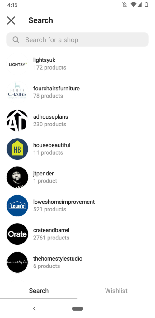 Instagram Guide - Product