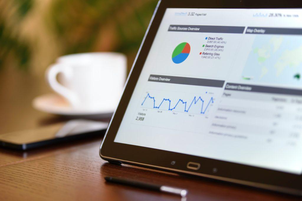 Google Analytics on COmputer