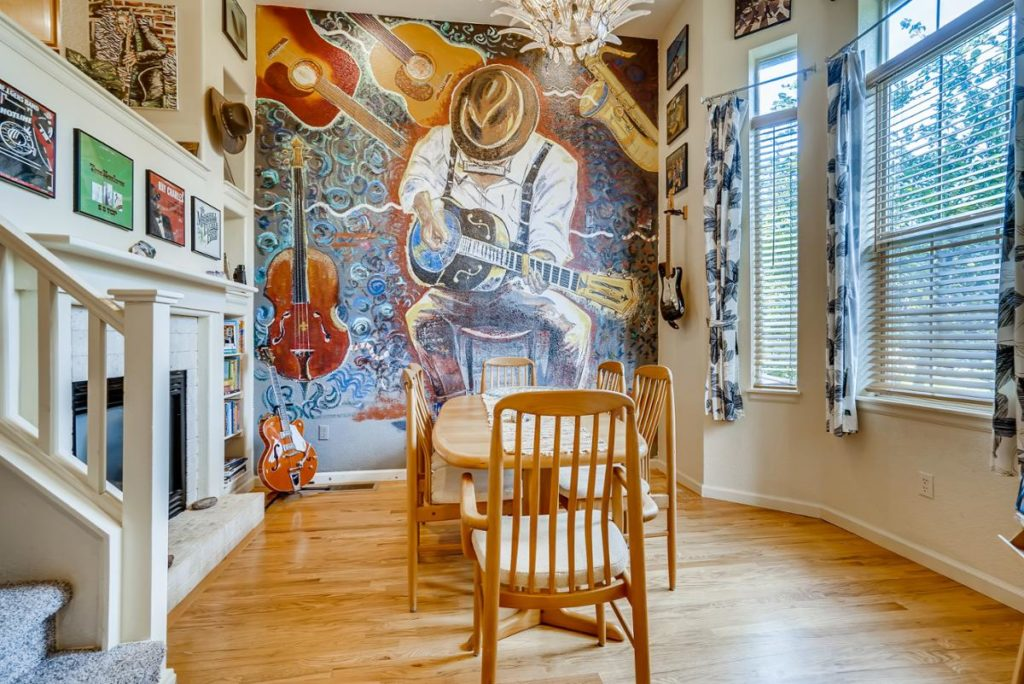 Music wall mural - Virtuance