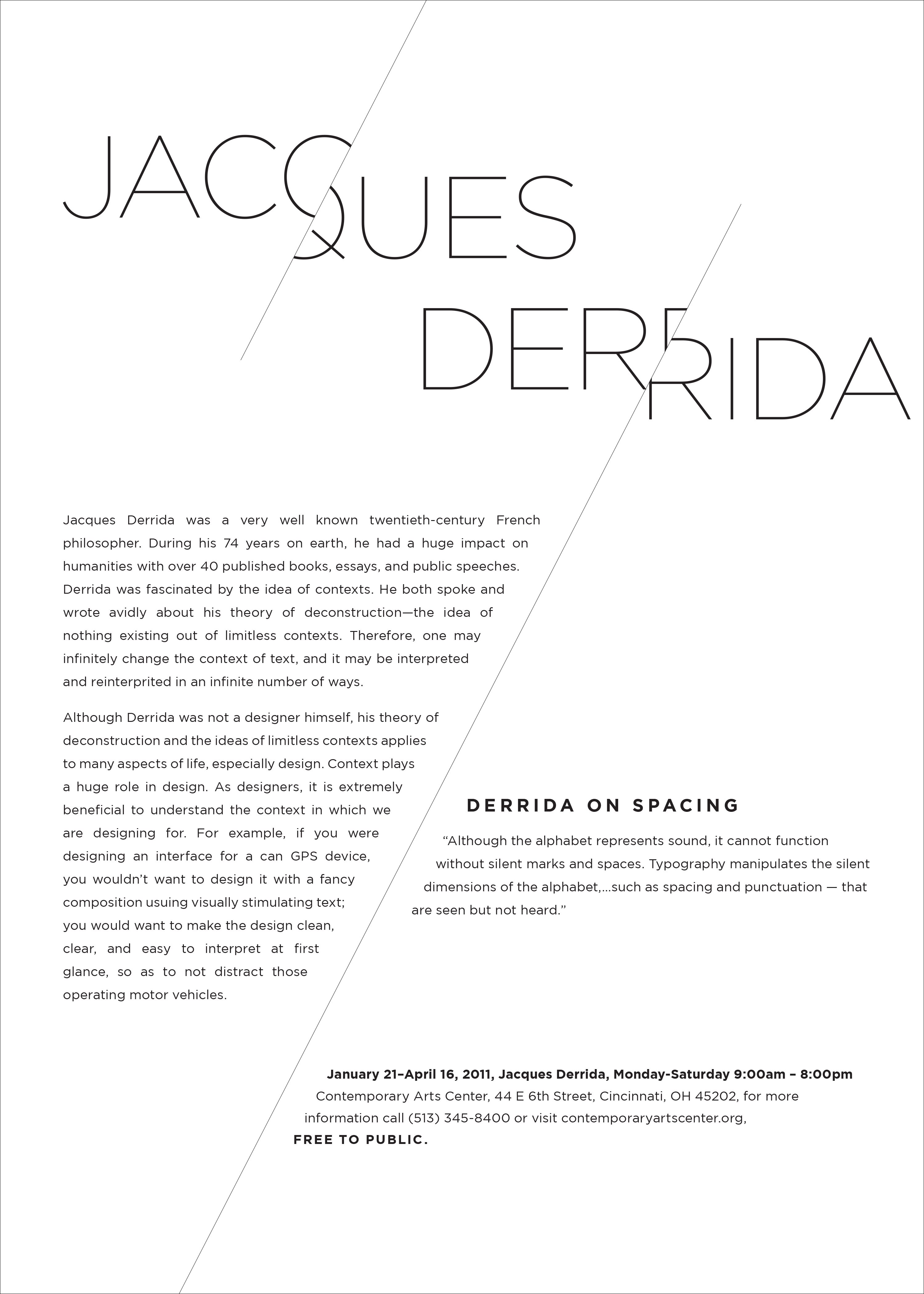 Jacques Derrida And His Deconstruction Essay  Essay Academic  Jacques Derrida And His Deconstruction Essay Reflective Essay On High School also Business Plan Writer New Orleans  Do My Homework