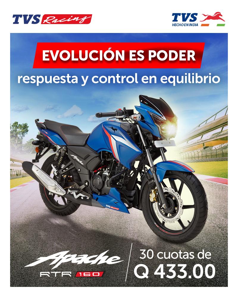EVOLUCION ES PDOER, APACHE 160