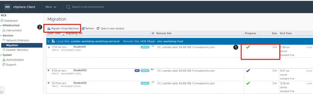 Hybrid Cloud Extension (HCX) Lab Manual - VMware Cloud on