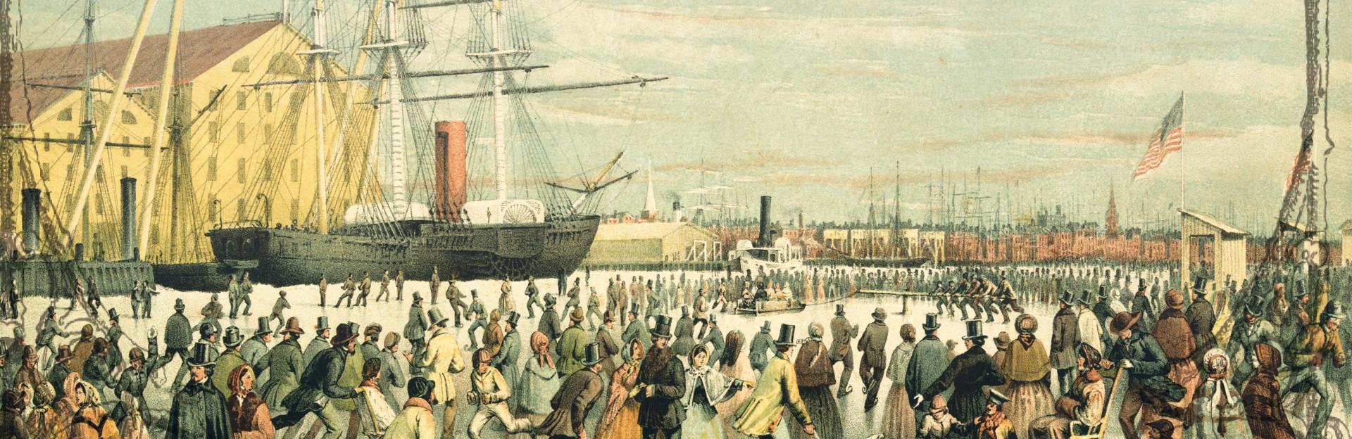 Philadelphia waterfront historical aduio tour