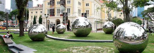 Public art trail voicemap singapore