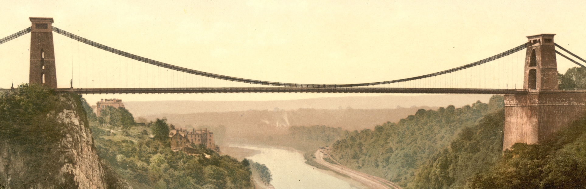 Clifton suspension bridge c1900 2