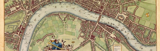 London city map cropped