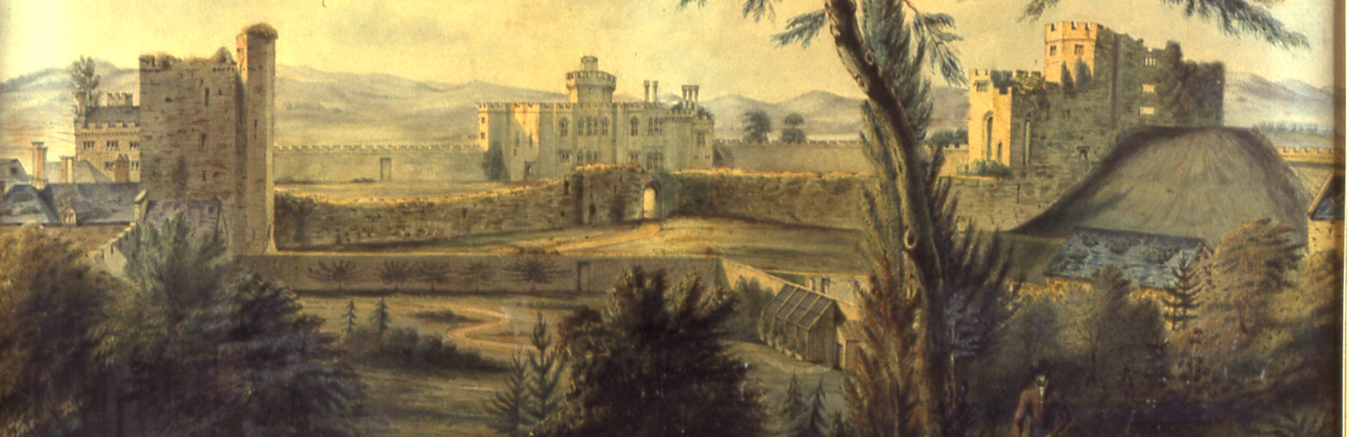 Cardiff castle 1760 cropped