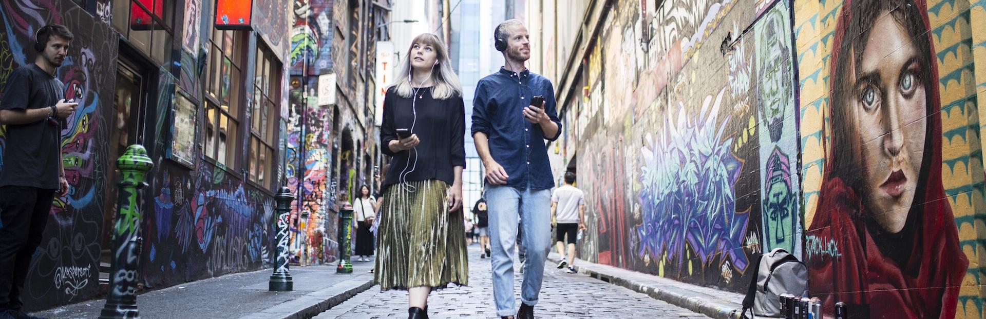Melbourne audio tour