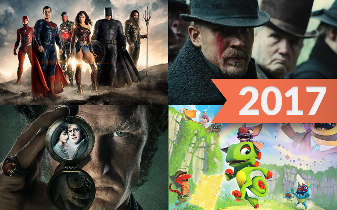Games, TV Shows and Movies to Look Forward to in 2017