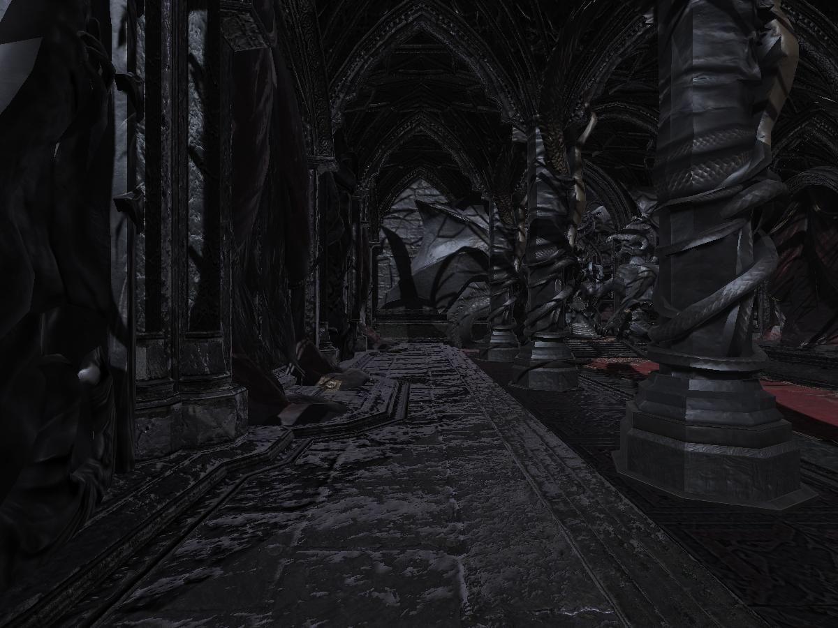 Castlevania LOS2 Throne Room