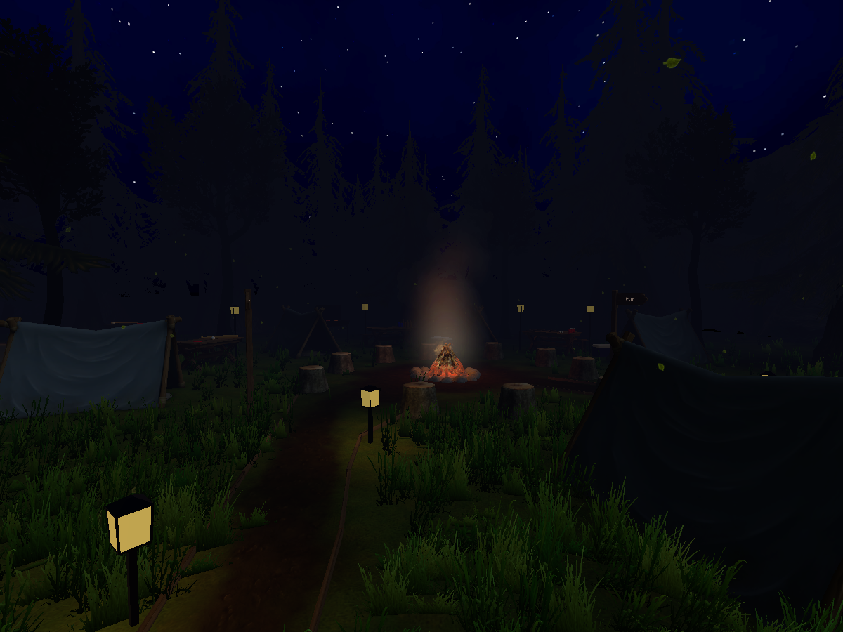 Forest Campsite