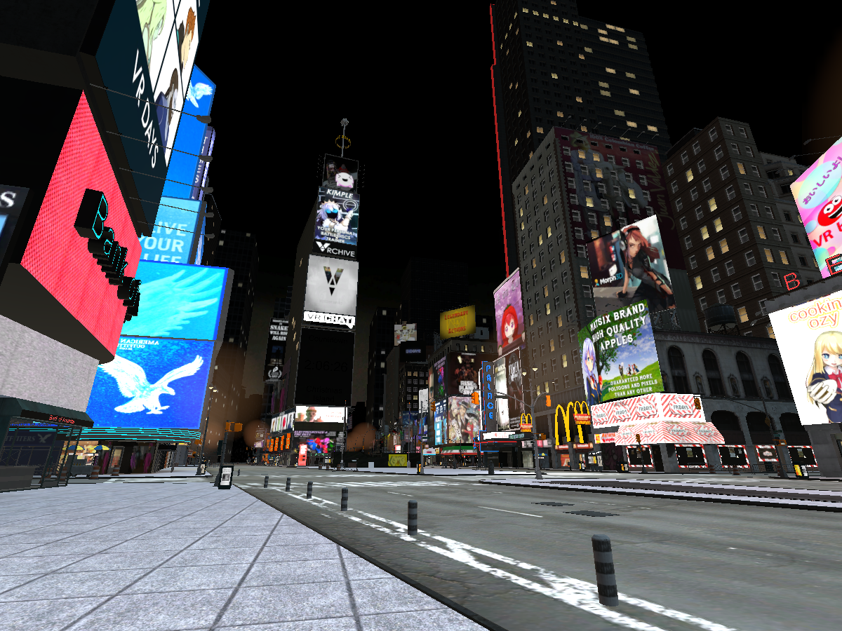 VRChat Times Square