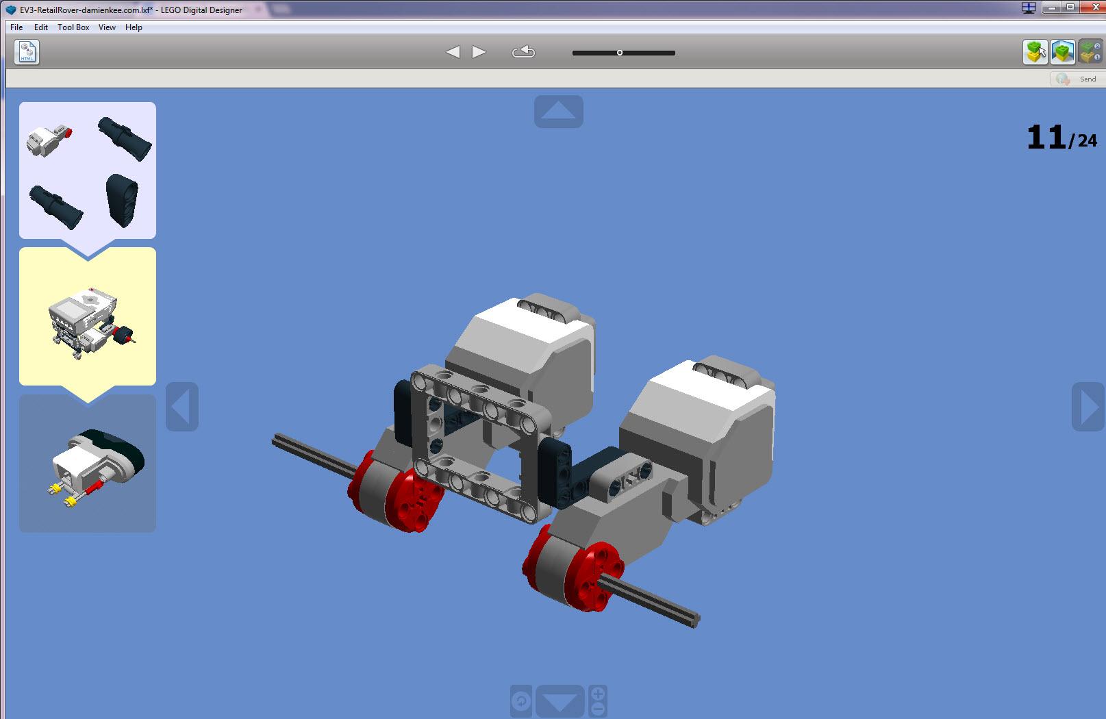 Introducing LEGO Digital Designer | Virtual Robotics Toolkit