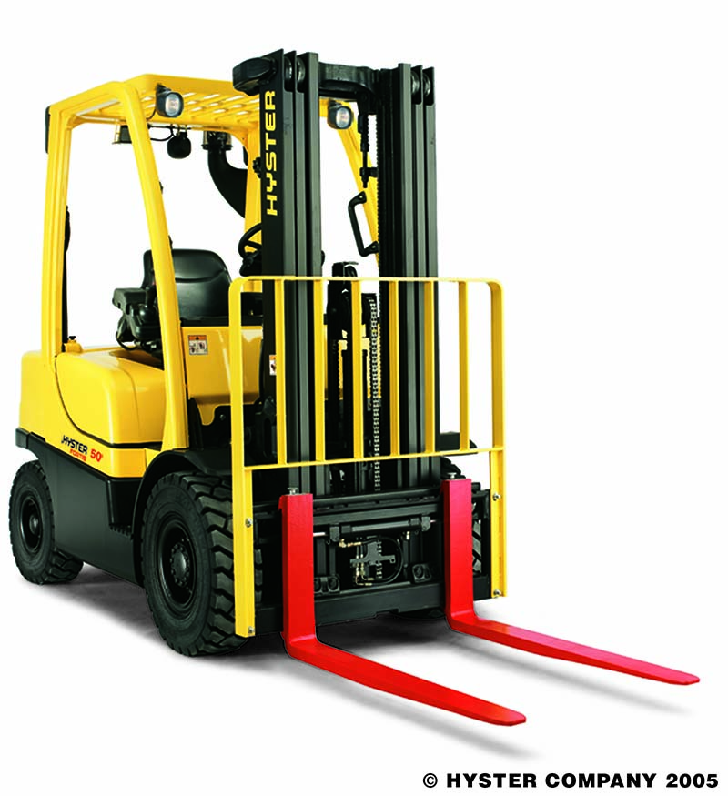 4 Wheel Pneumatic Tire Forklifts