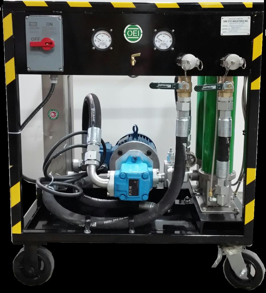 Mobile Mining Equipment Fluid Filtration