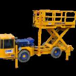 RDH Scharf Liftmaster Scissor Lift Truck