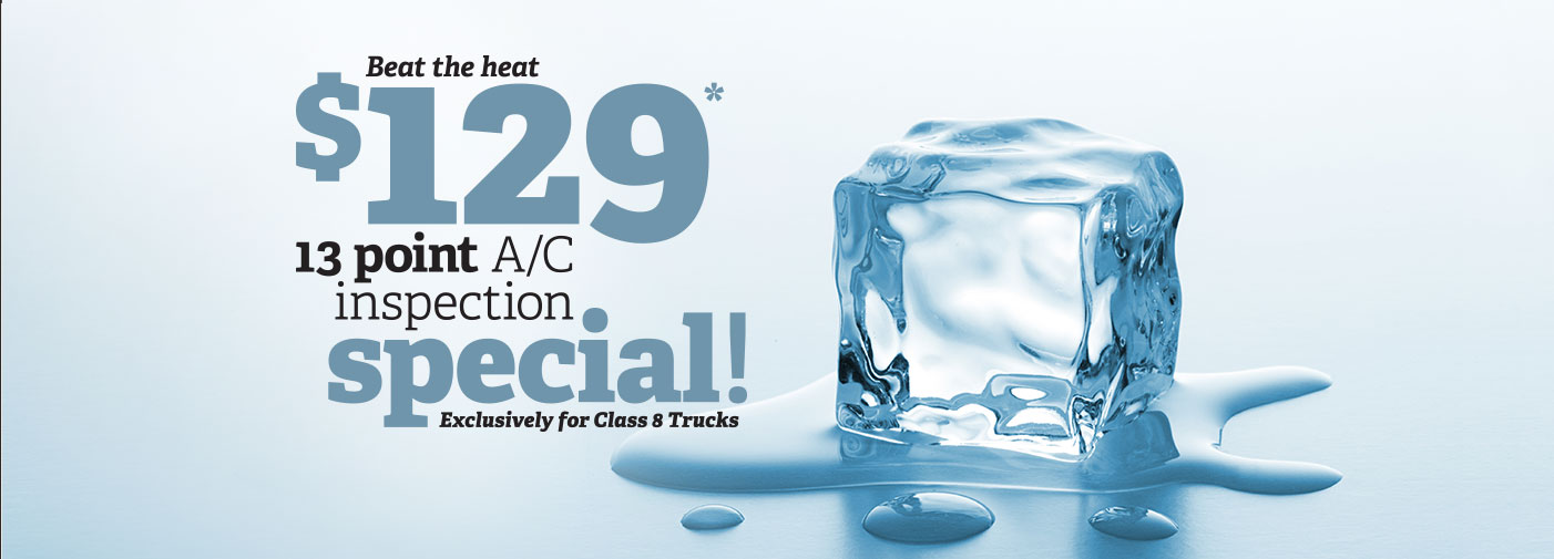 $129* 13 point AC inspection special!