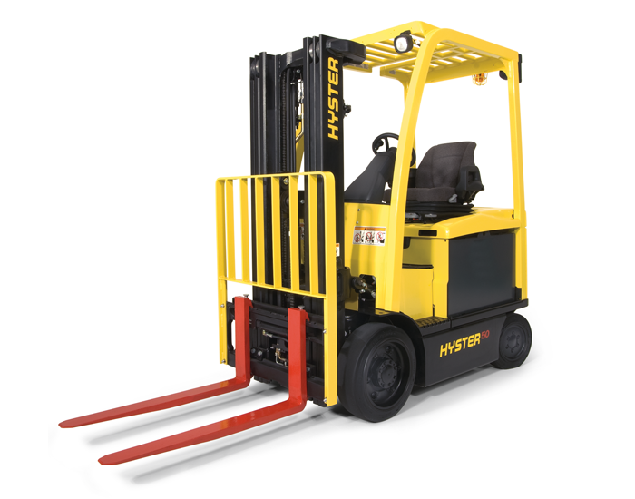 4 Wheel Cushion Tire Forklift