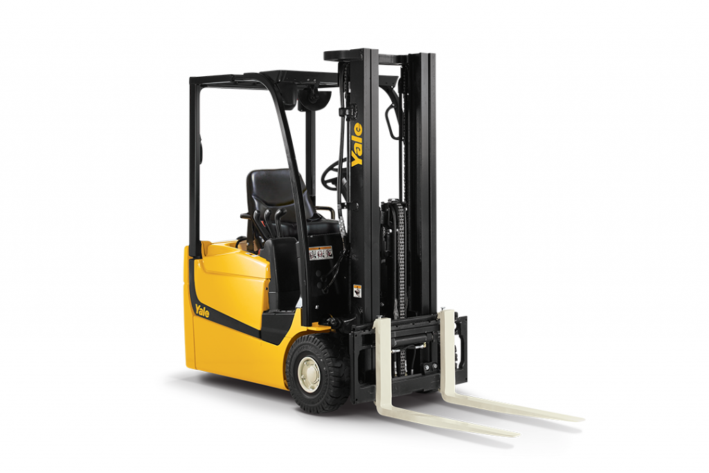 3 Wheel Electric Pneumatic Tire Lift Truck