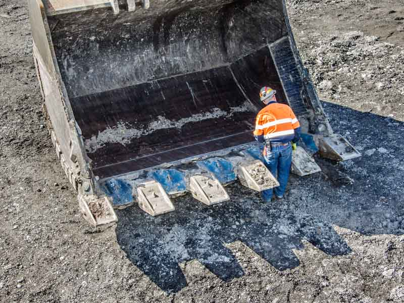 Cast Lips and G.E.T. for Hydraulic Mining Excavators & Front Shovels
