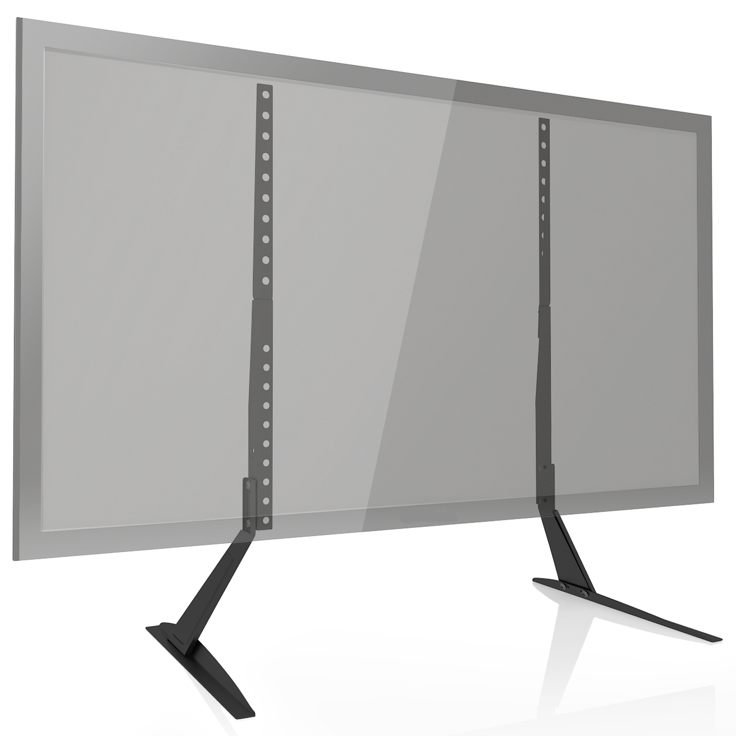 wali universal lcd flat screen tv table top stand base. Black Bedroom Furniture Sets. Home Design Ideas