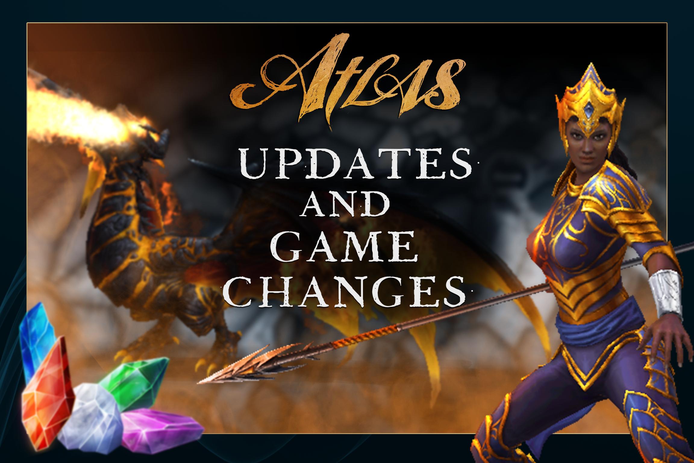 War Dragons Atlas Changes