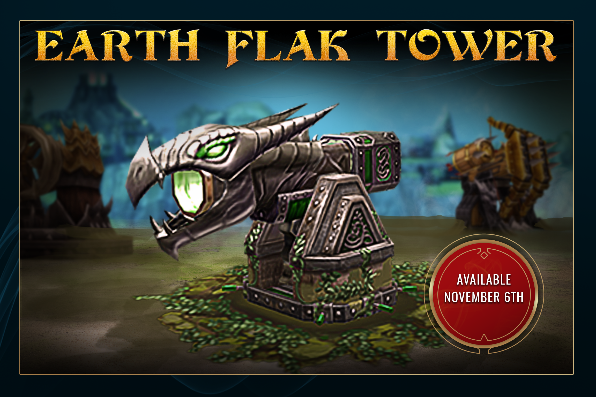 War Dragons - Earth Flak Tower