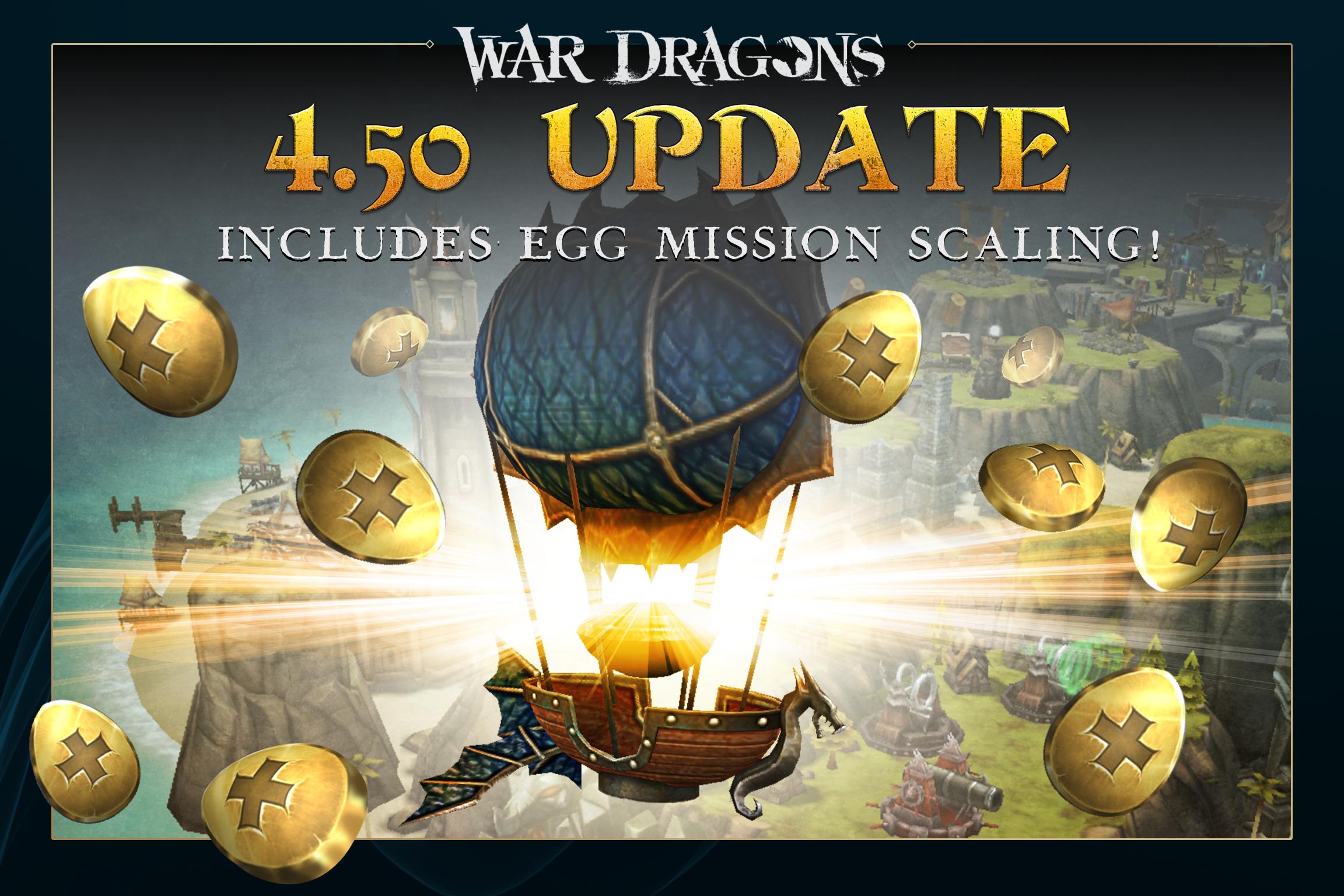 War Dragons - Egg Mission Scaling