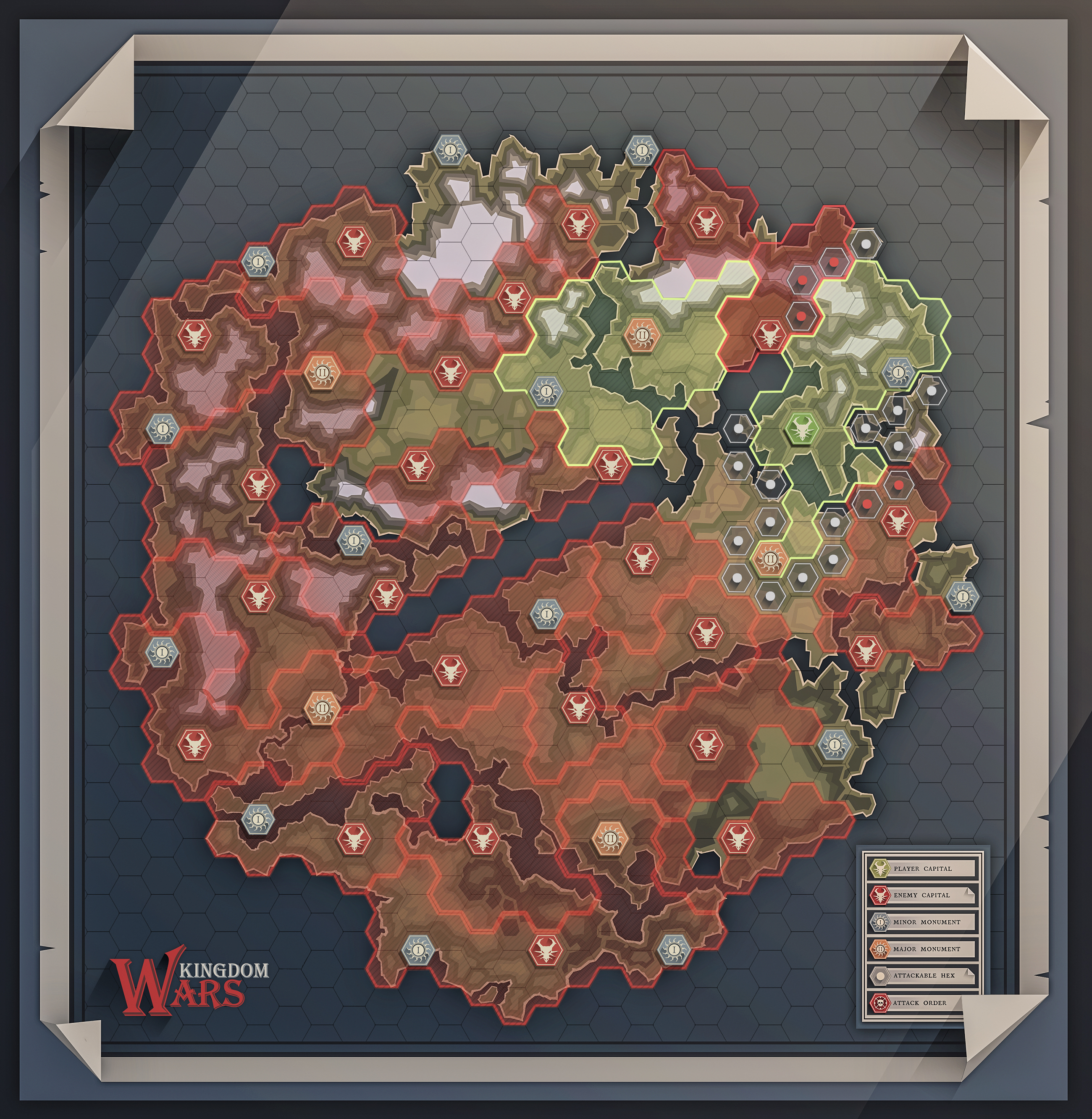 Kingdom Wars Map