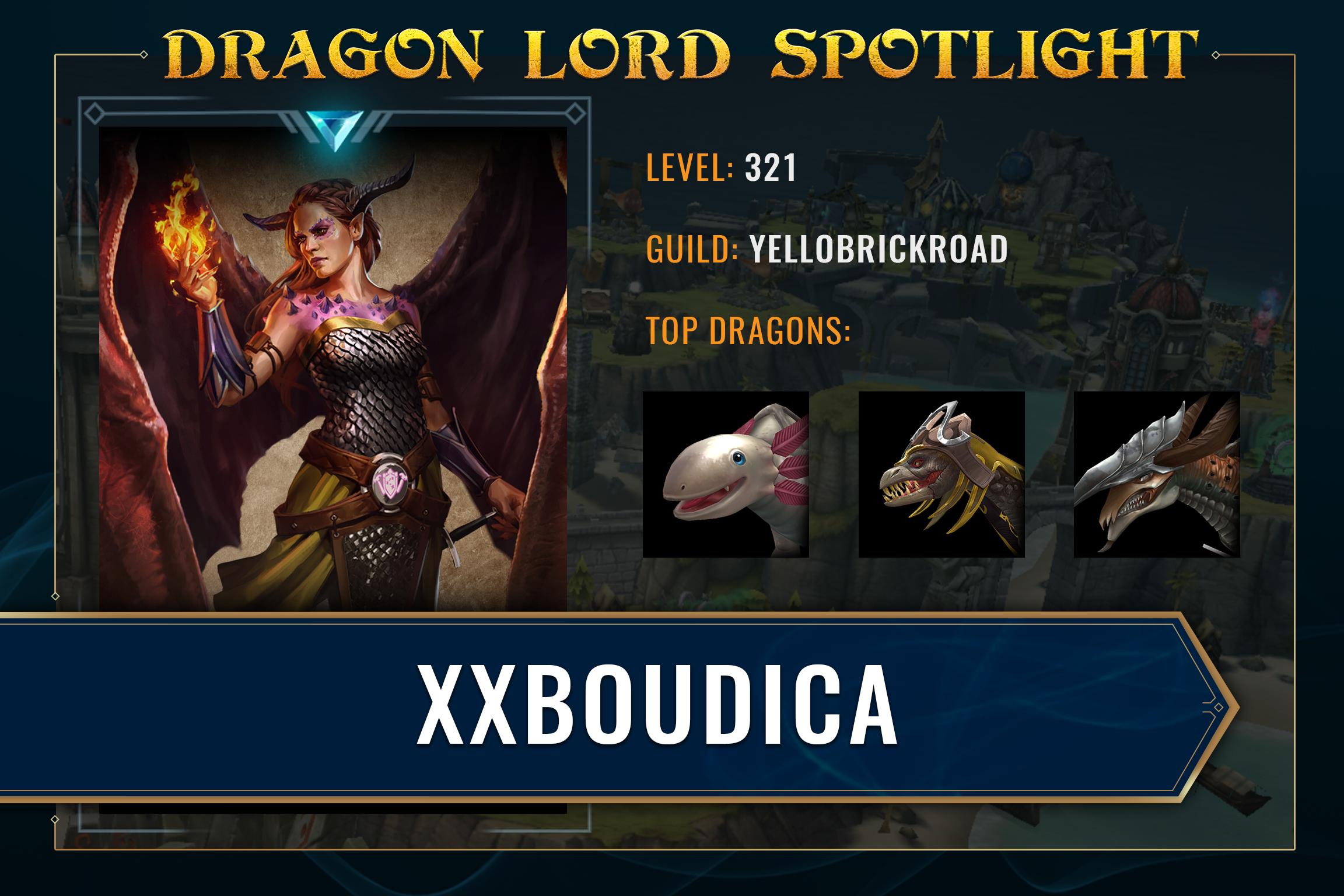 War Dragons - xxBoudica