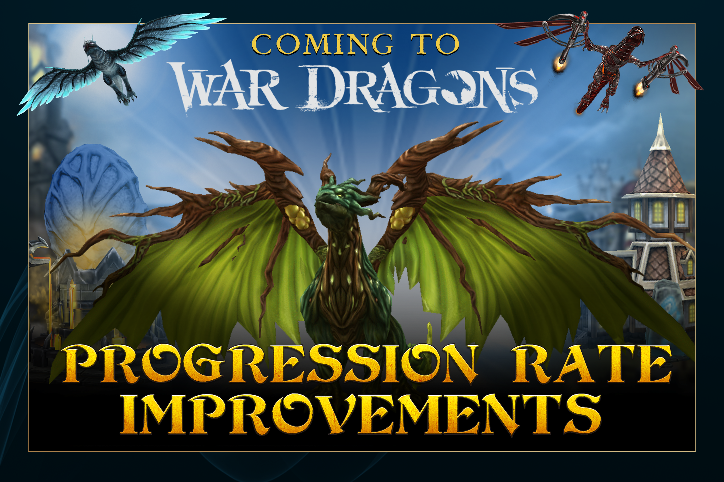 War Dragons - Progression Rate Improvements